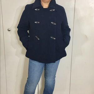 OLD NAVY Toggle Button Double Breasted Peacoat